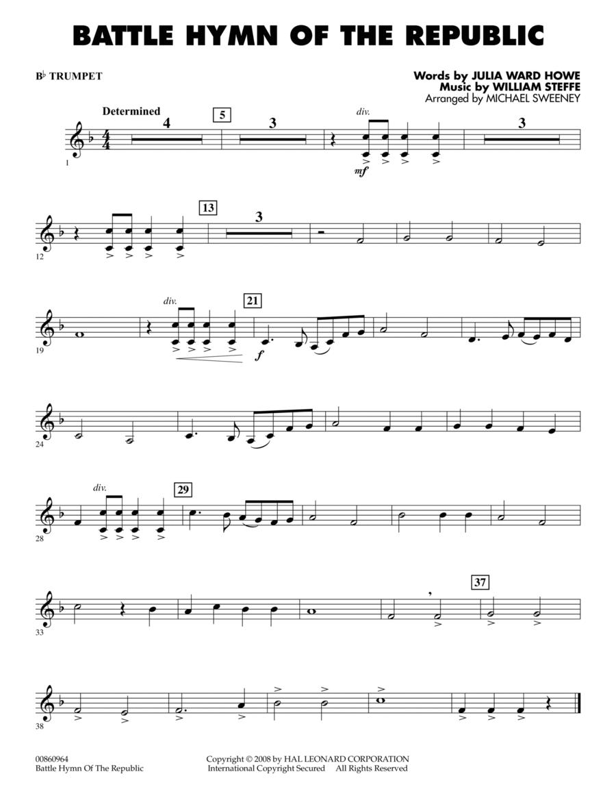 Battle Hymn of the Republic - Bb Trumpet