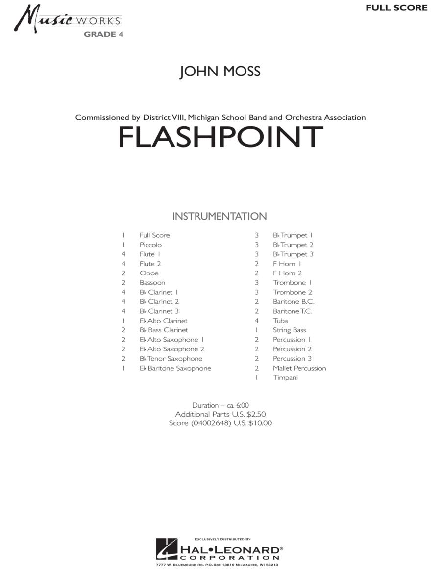 Flashpoint - Full Score