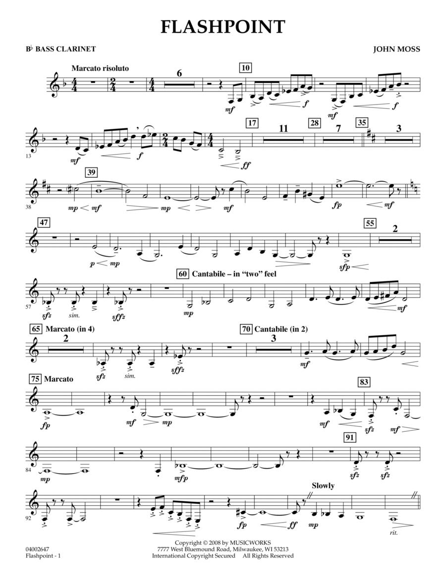 Flashpoint - Bb Bass Clarinet