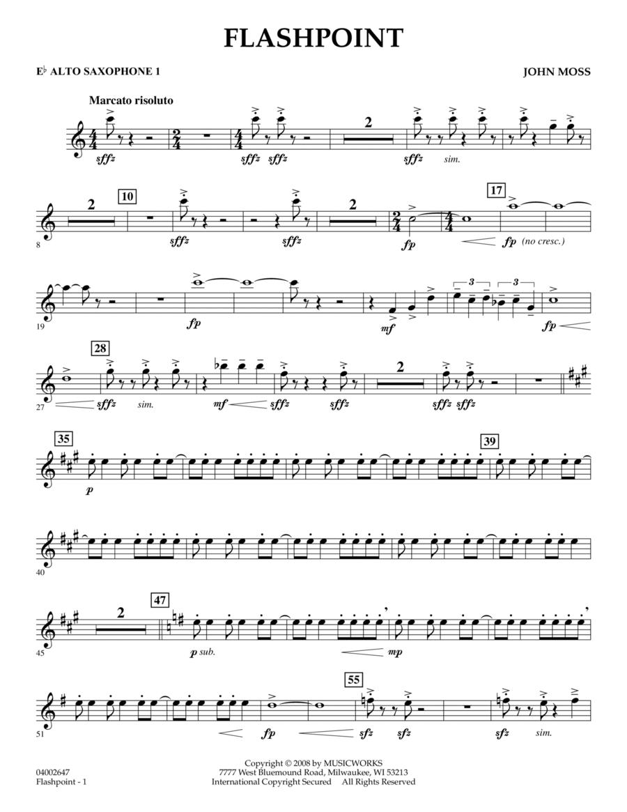 Flashpoint - Eb Alto Saxophone 1