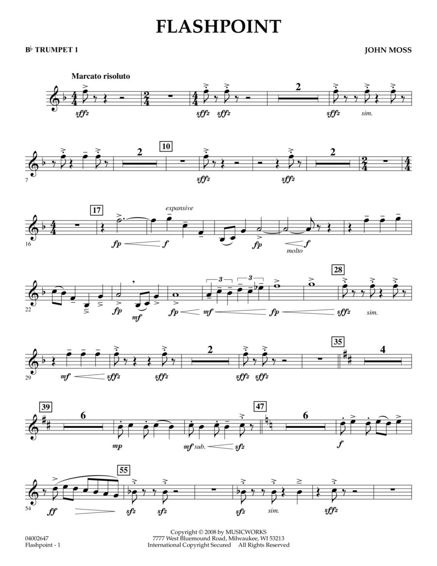 Flashpoint - Bb Trumpet 1