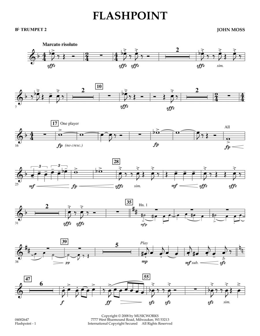 Flashpoint - Bb Trumpet 2
