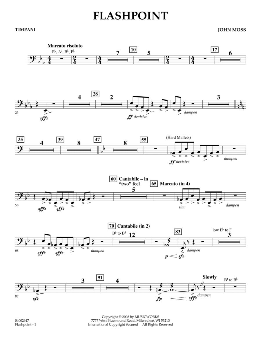Flashpoint - Timpani