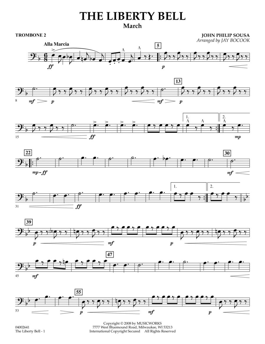 The Liberty Bell - Trombone 2