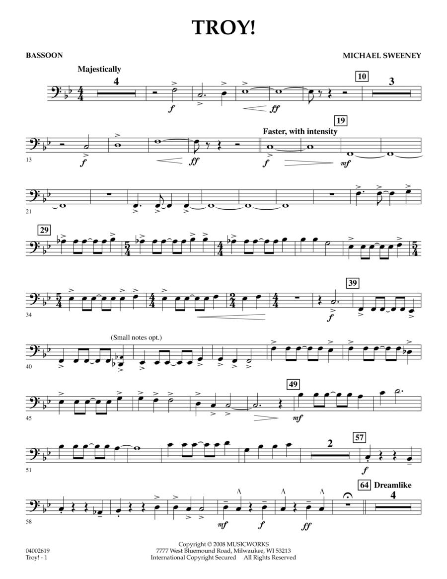 Troy! - Bassoon