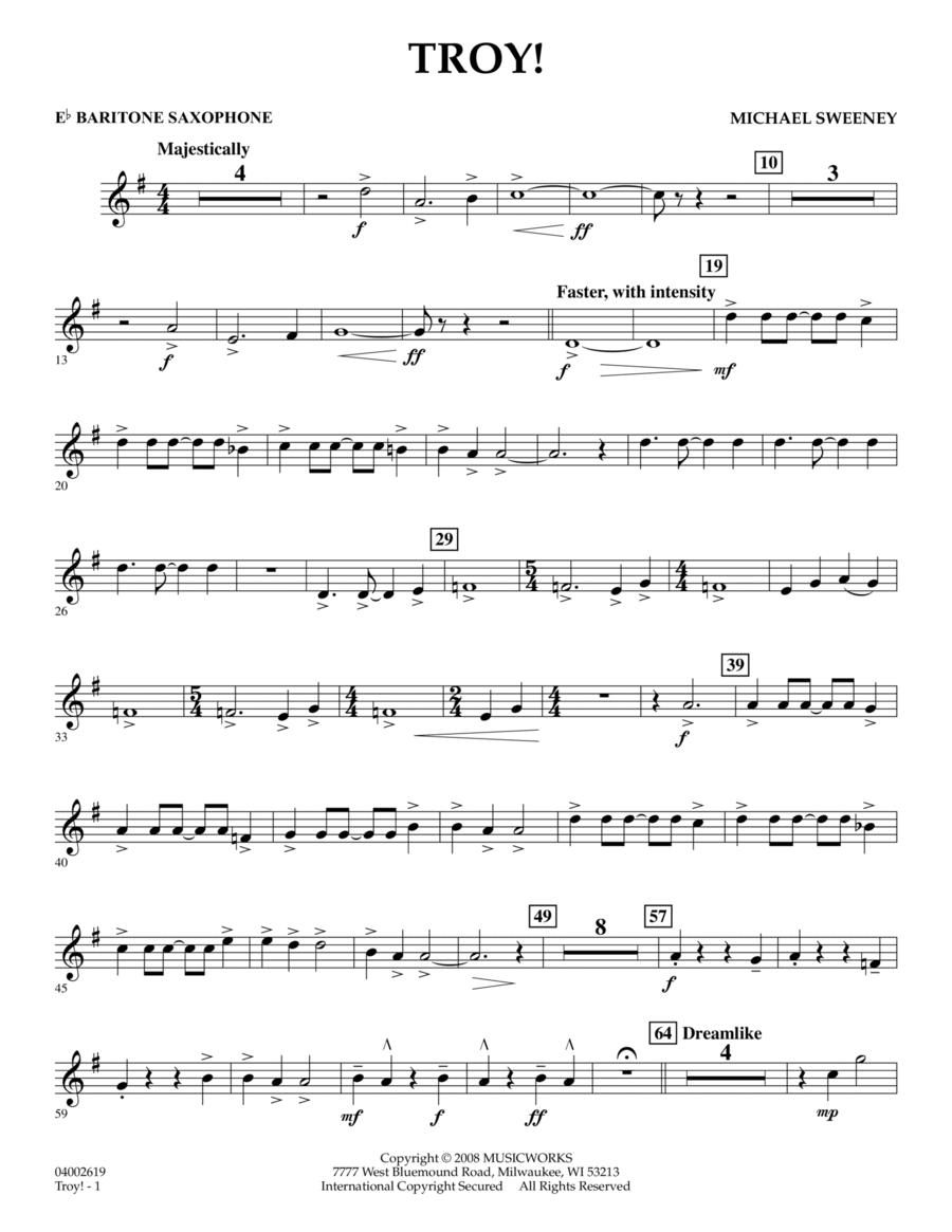 Troy! - Eb Baritone Saxophone