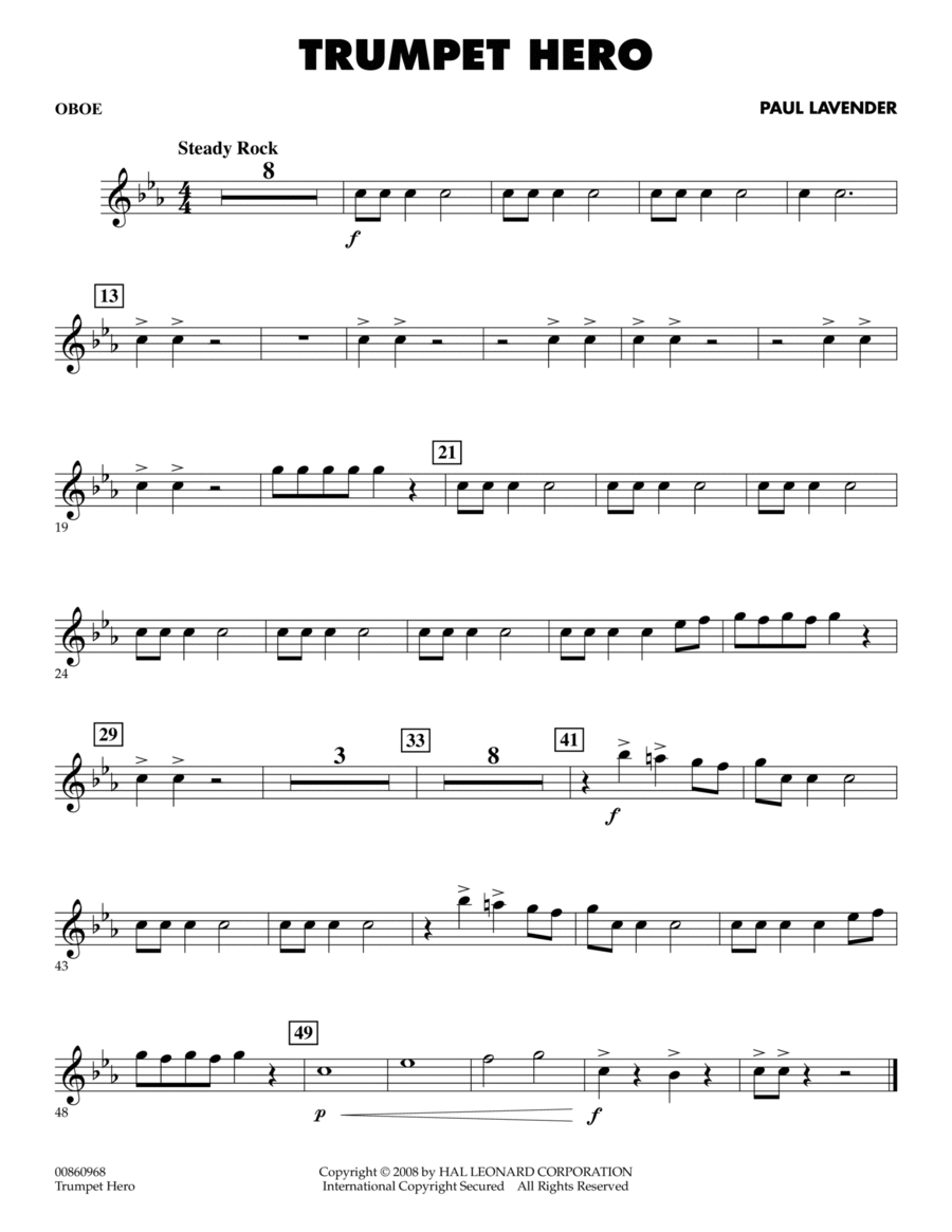 Trumpet Hero - Oboe