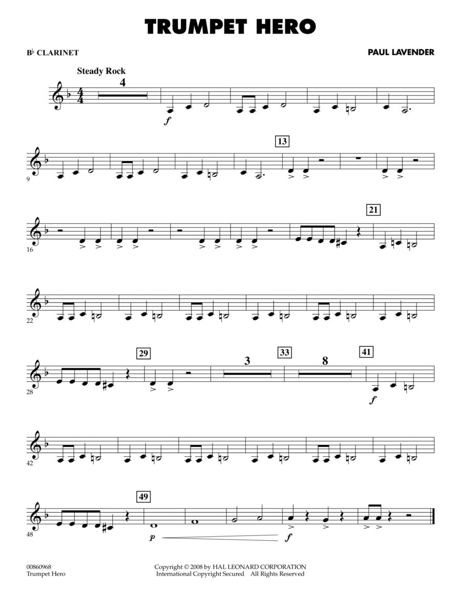 Trumpet Hero - Bb Clarinet