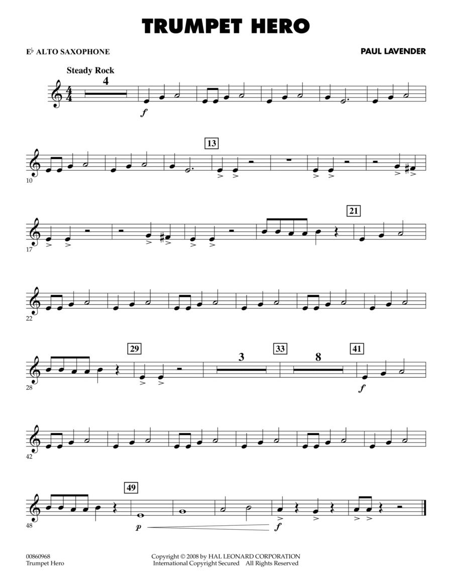 Trumpet Hero - Eb Alto Saxophone