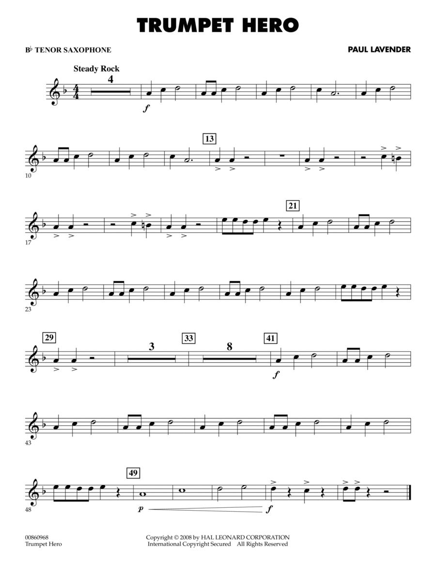 Trumpet Hero - Bb Tenor Saxophone