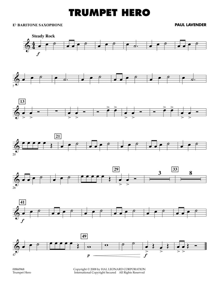 Trumpet Hero - Eb Baritone Saxophone