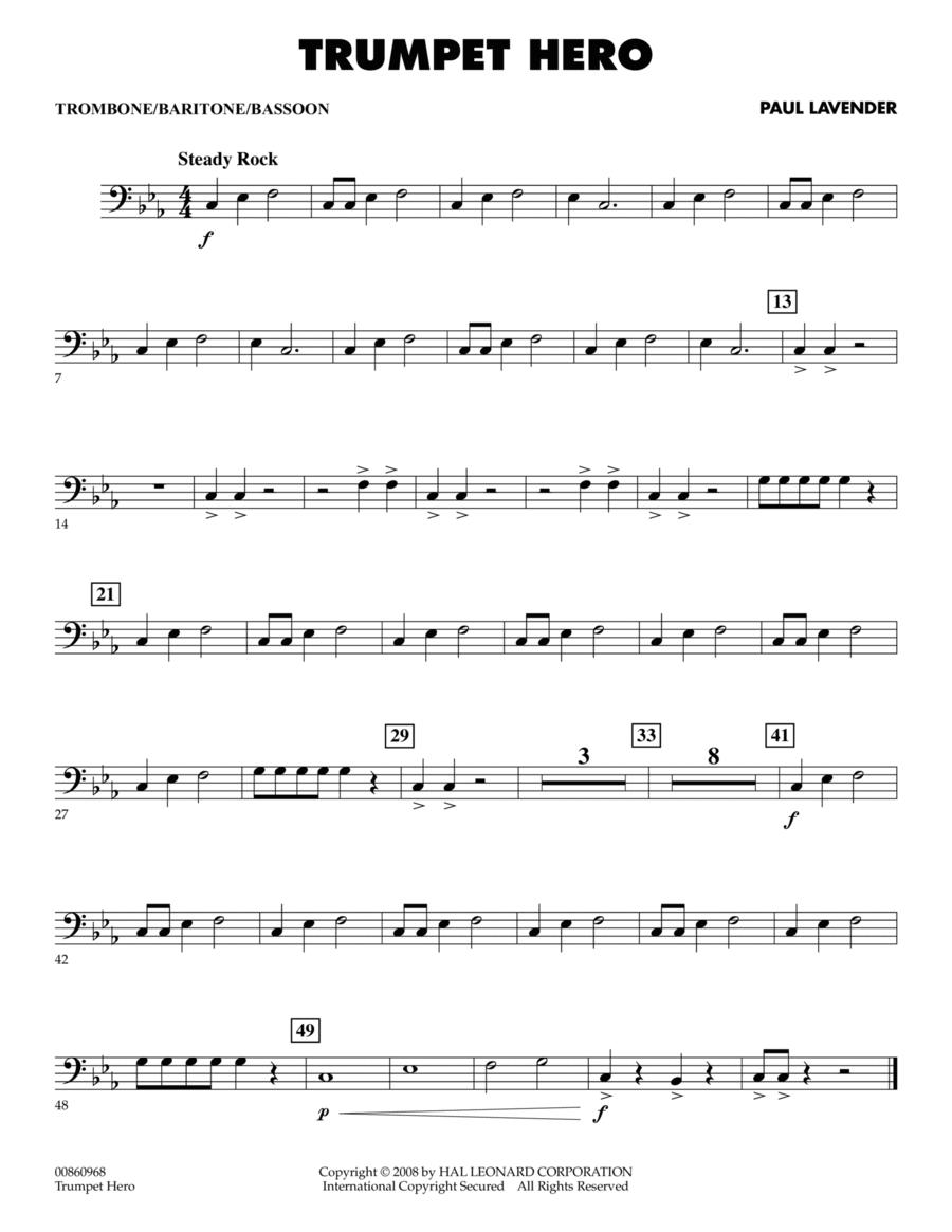 Trumpet Hero - Trombone/Baritone B.C./Bassoon