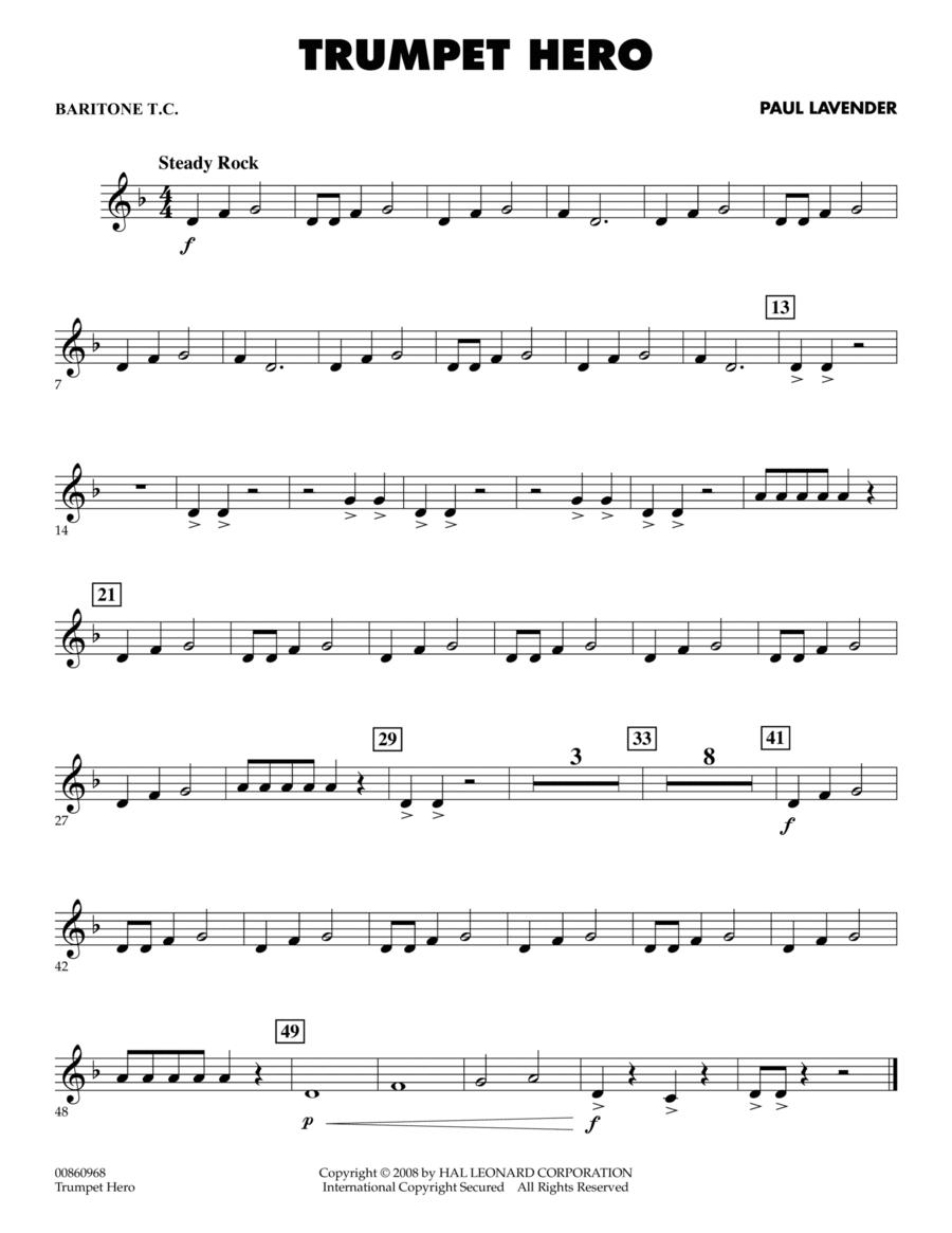 Trumpet Hero - Baritone T.C.