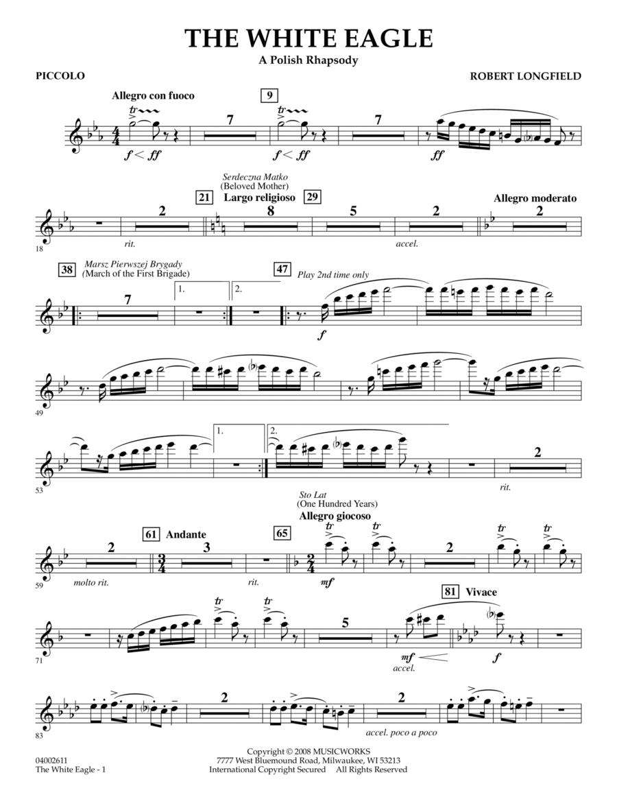 The White Eagle (A Polish Rhapsody) - Piccolo