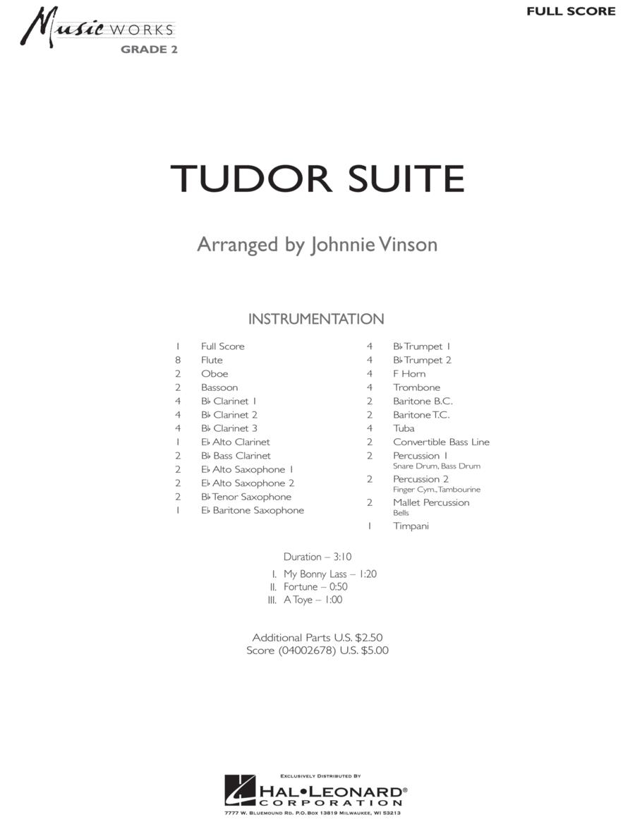 Tudor Suite - Full Score