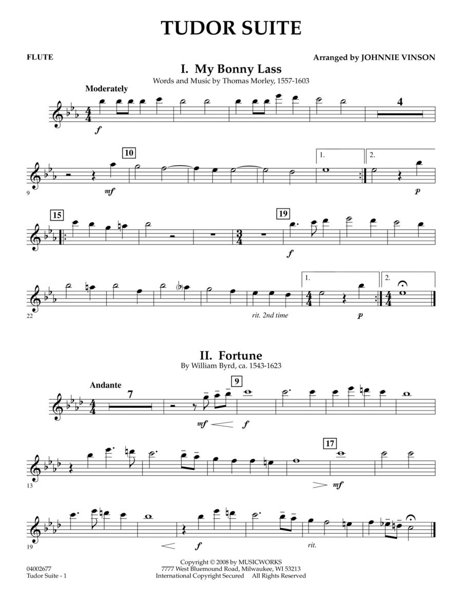 Tudor Suite - Flute