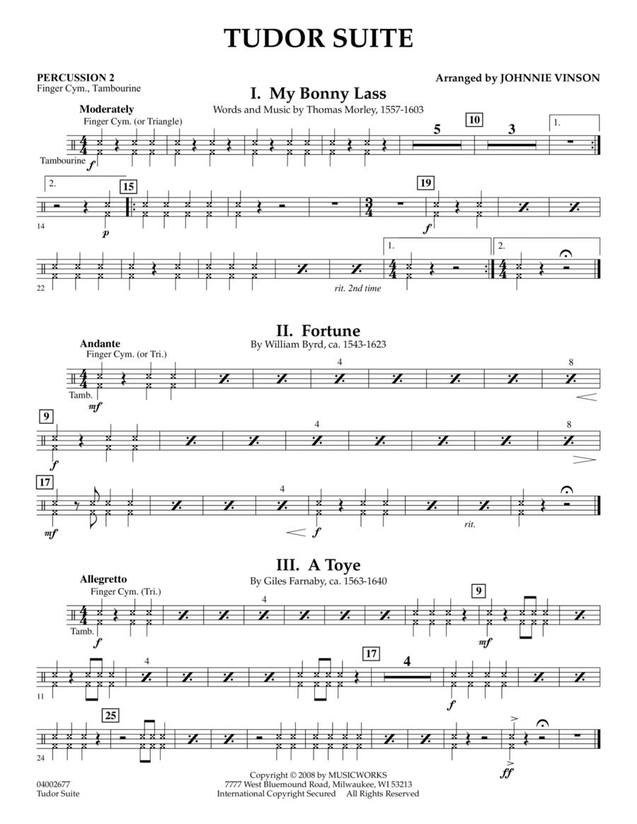 Tudor Suite - Percussion 2