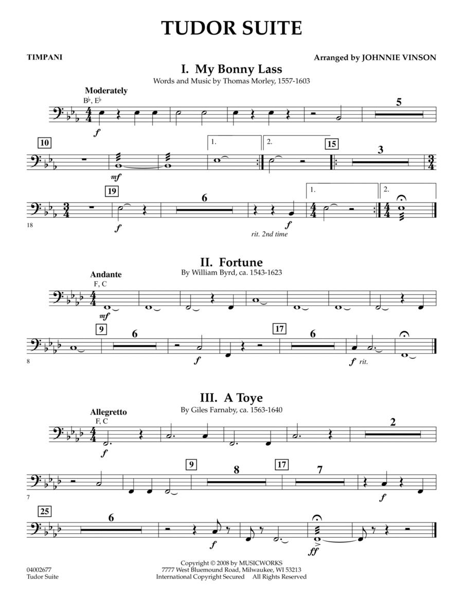 Tudor Suite - Timpani