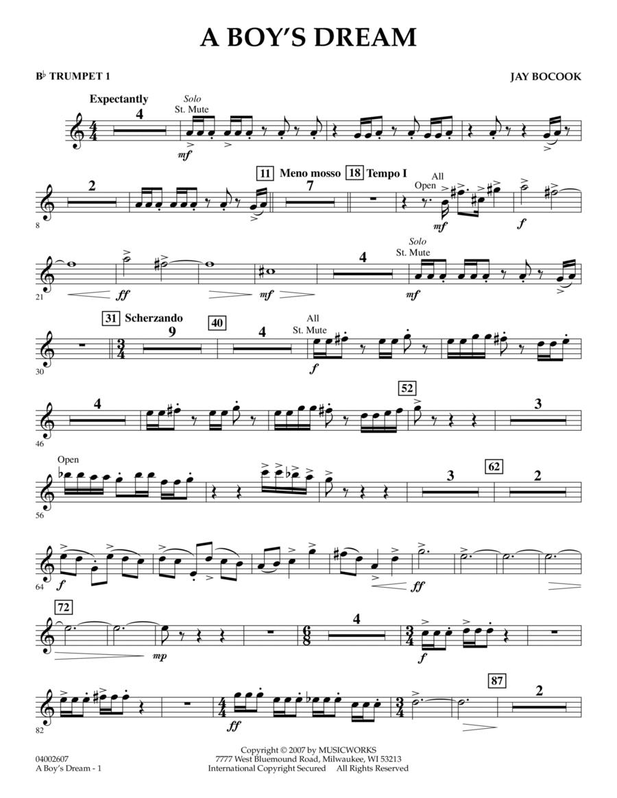 A Boy's Dream - Bb Trumpet 1