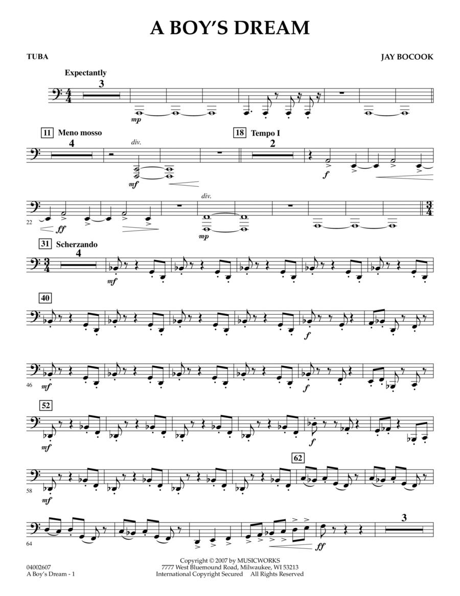 A Boy's Dream - Tuba