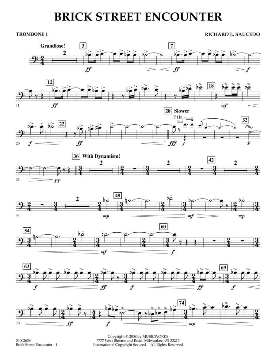 Brick Street Encounter - Trombone 1
