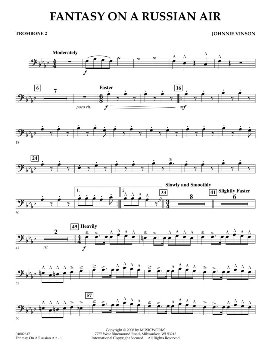 Fantasy on a Russian Air - Trombone 2