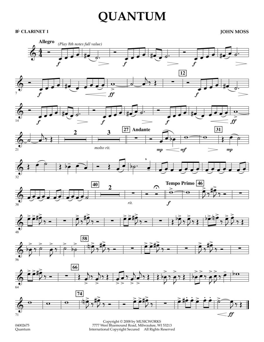 Quantum - Bb Clarinet 1