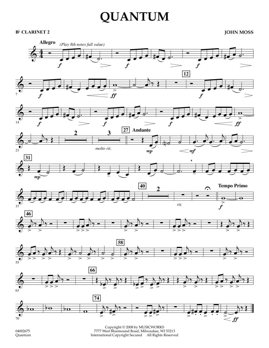 Quantum - Bb Clarinet 2