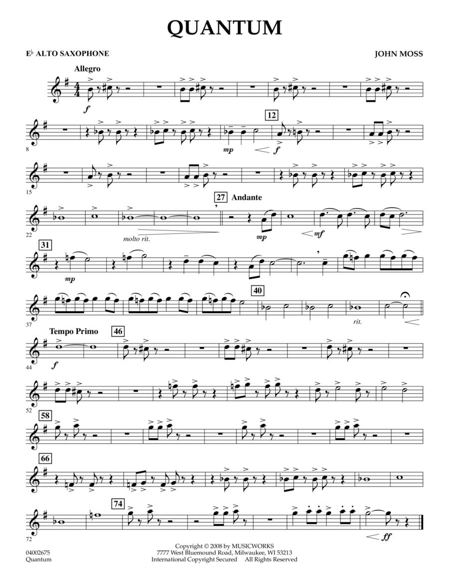 Quantum - Eb Alto Saxophone
