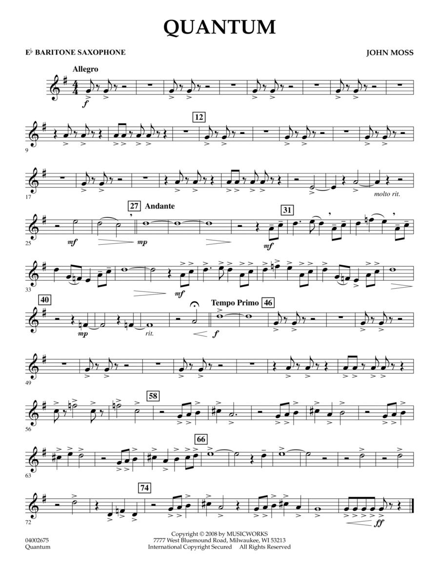Quantum - Eb Baritone Saxophone