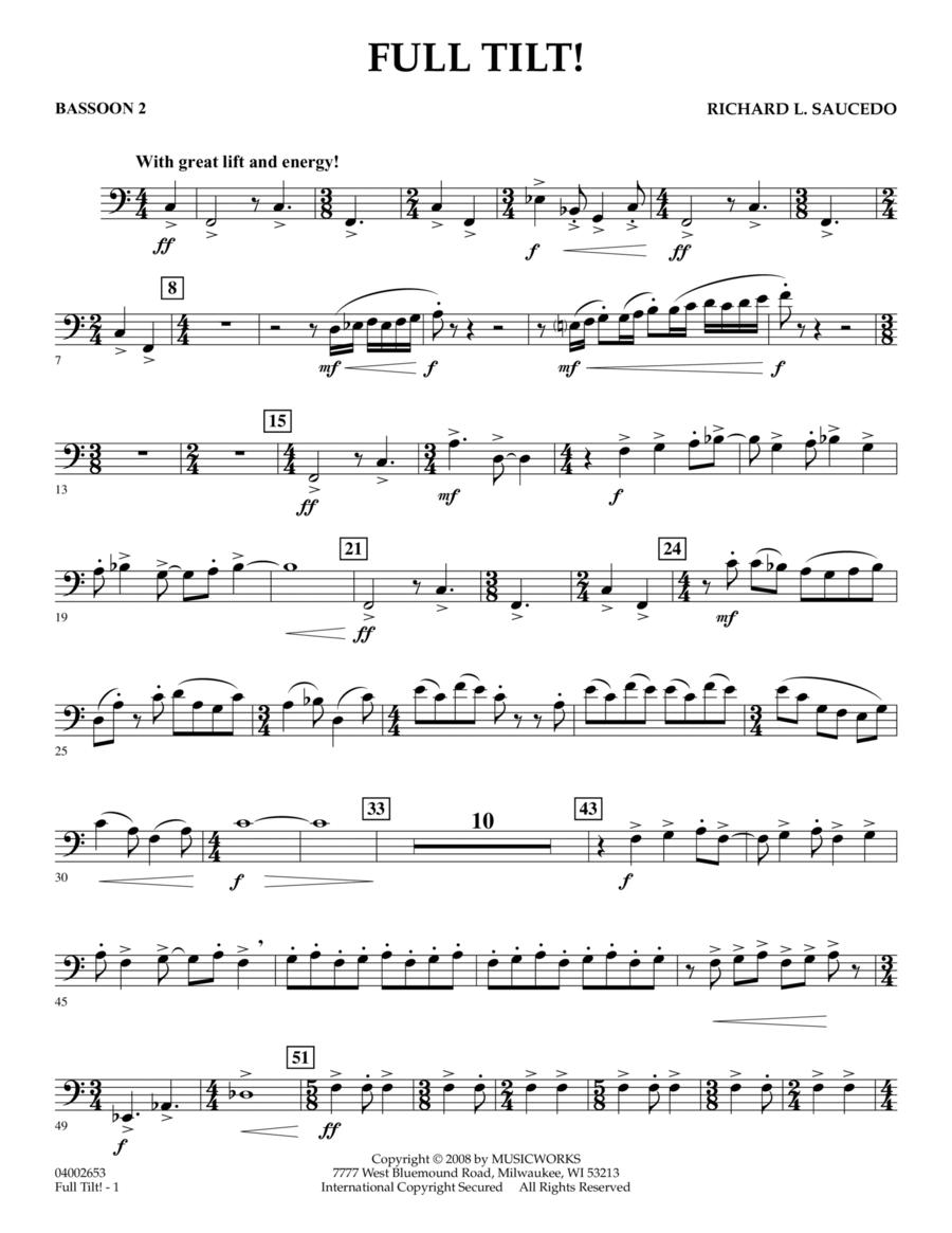 Full Tilt - Bassoon 2