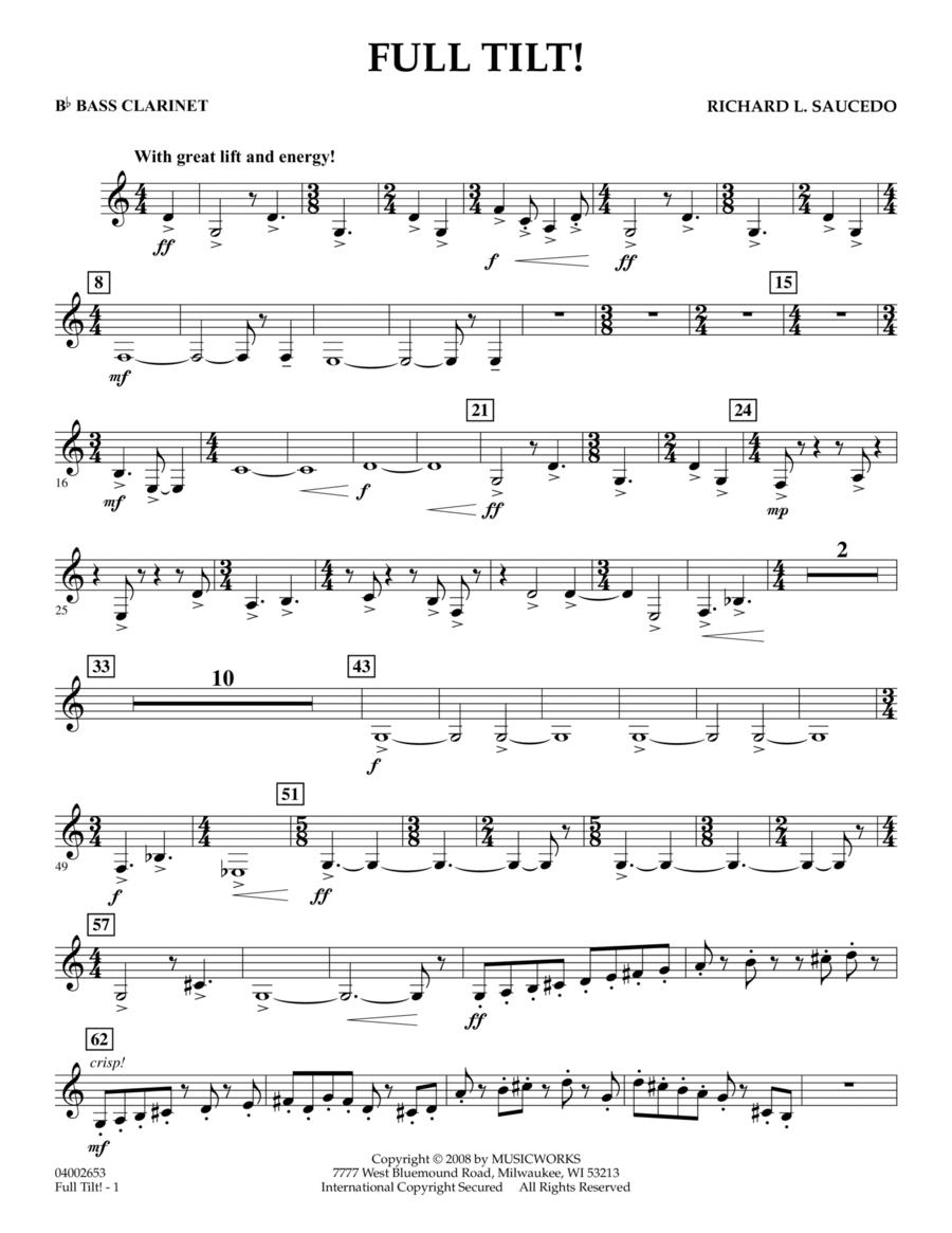 Full Tilt - Bb Bass Clarinet