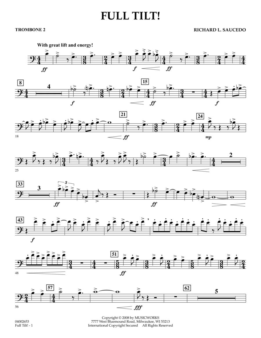 Full Tilt - Trombone 2