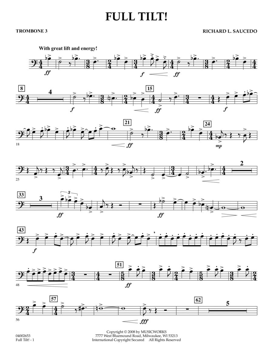 Full Tilt - Trombone 3