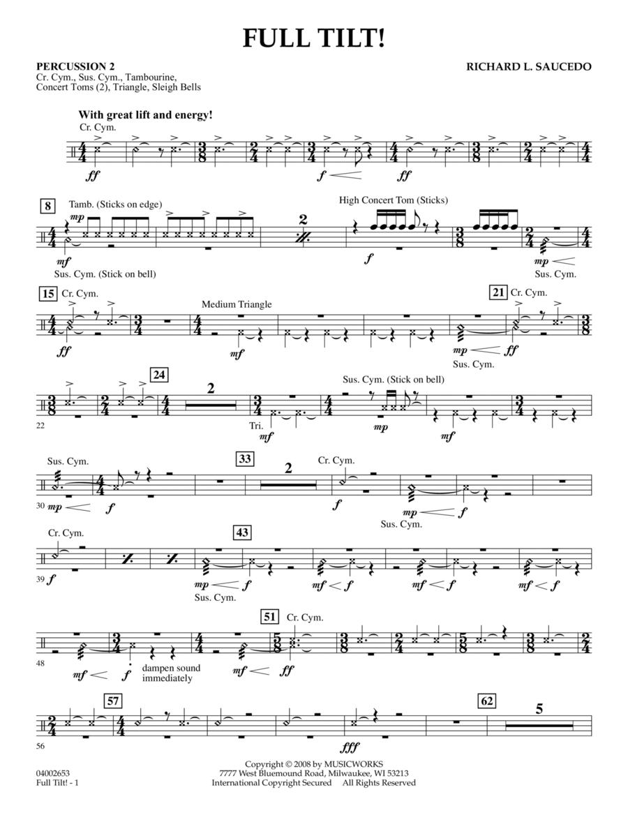 Full Tilt - Percussion 2