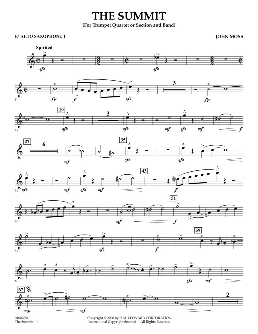 The Summit - Eb Alto Saxophone 1