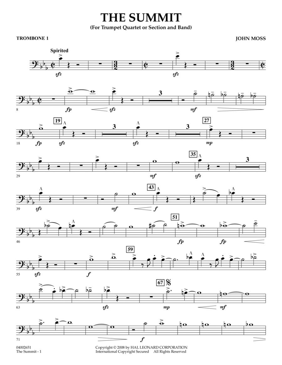 The Summit - Trombone 1