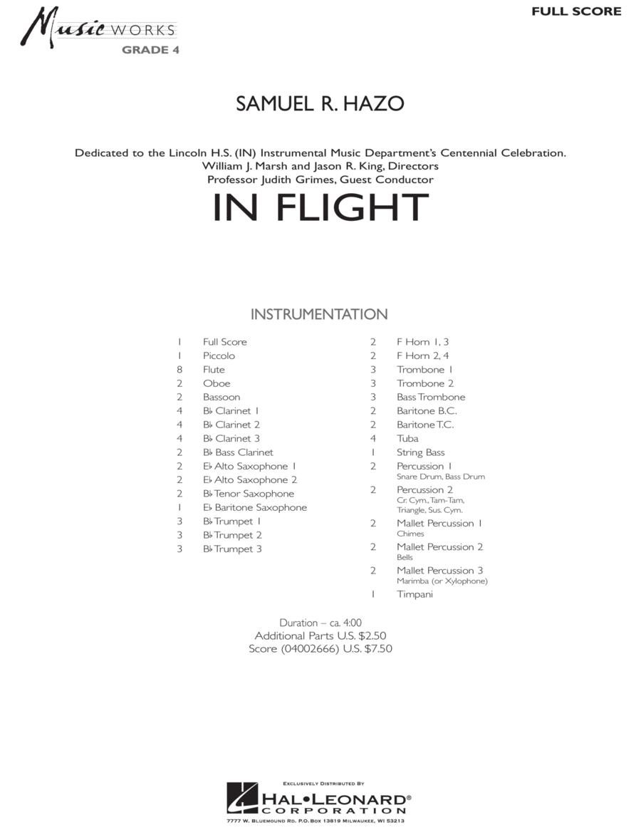 In Flight - Full Score