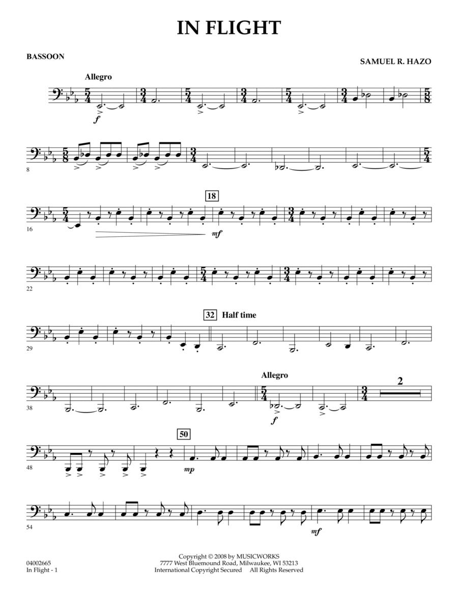 In Flight - Bassoon