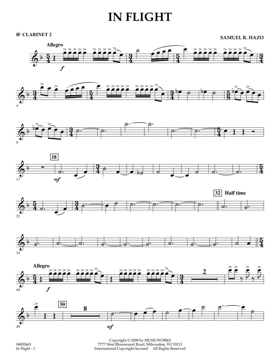 In Flight - Bb Clarinet 2
