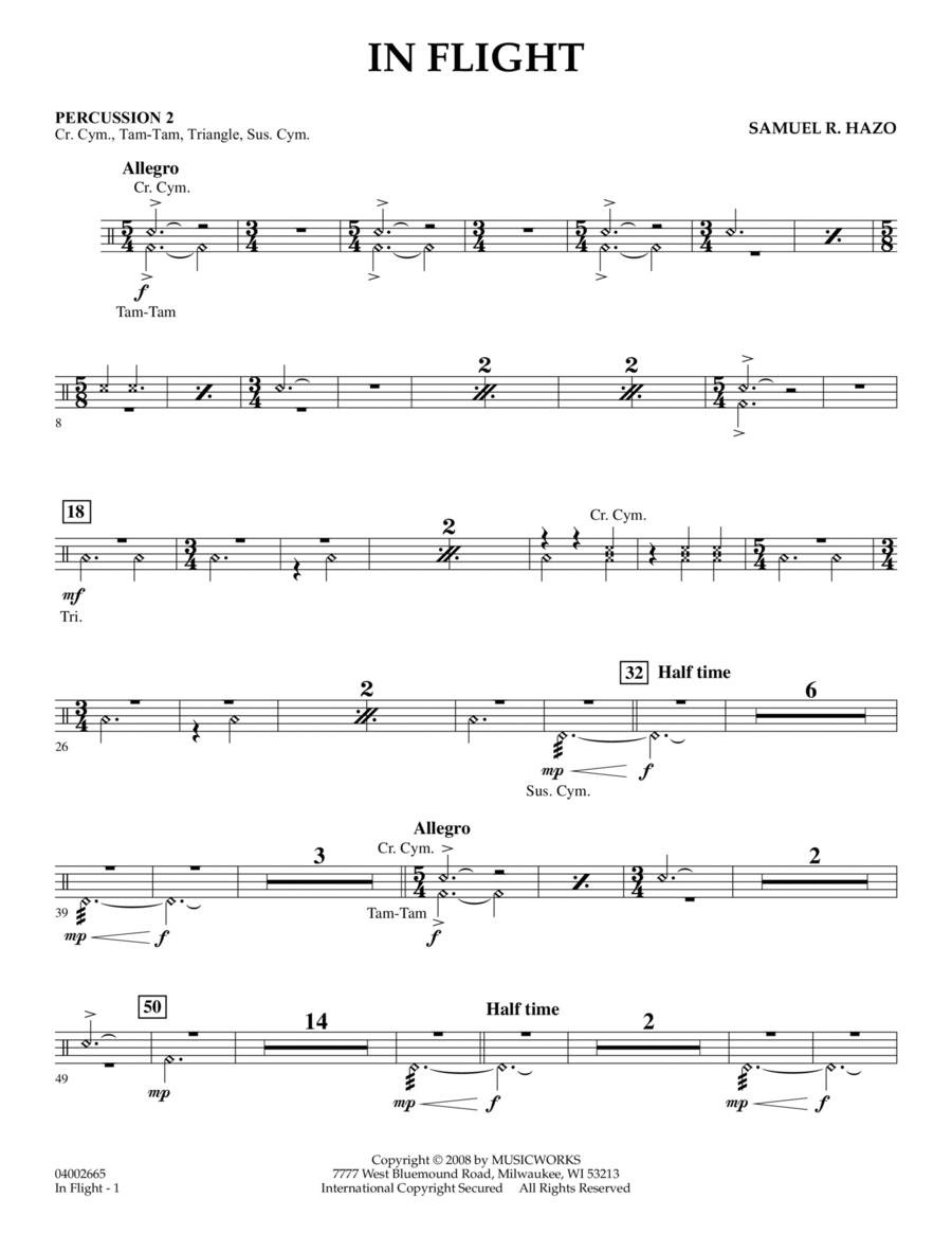 In Flight - Percussion 2