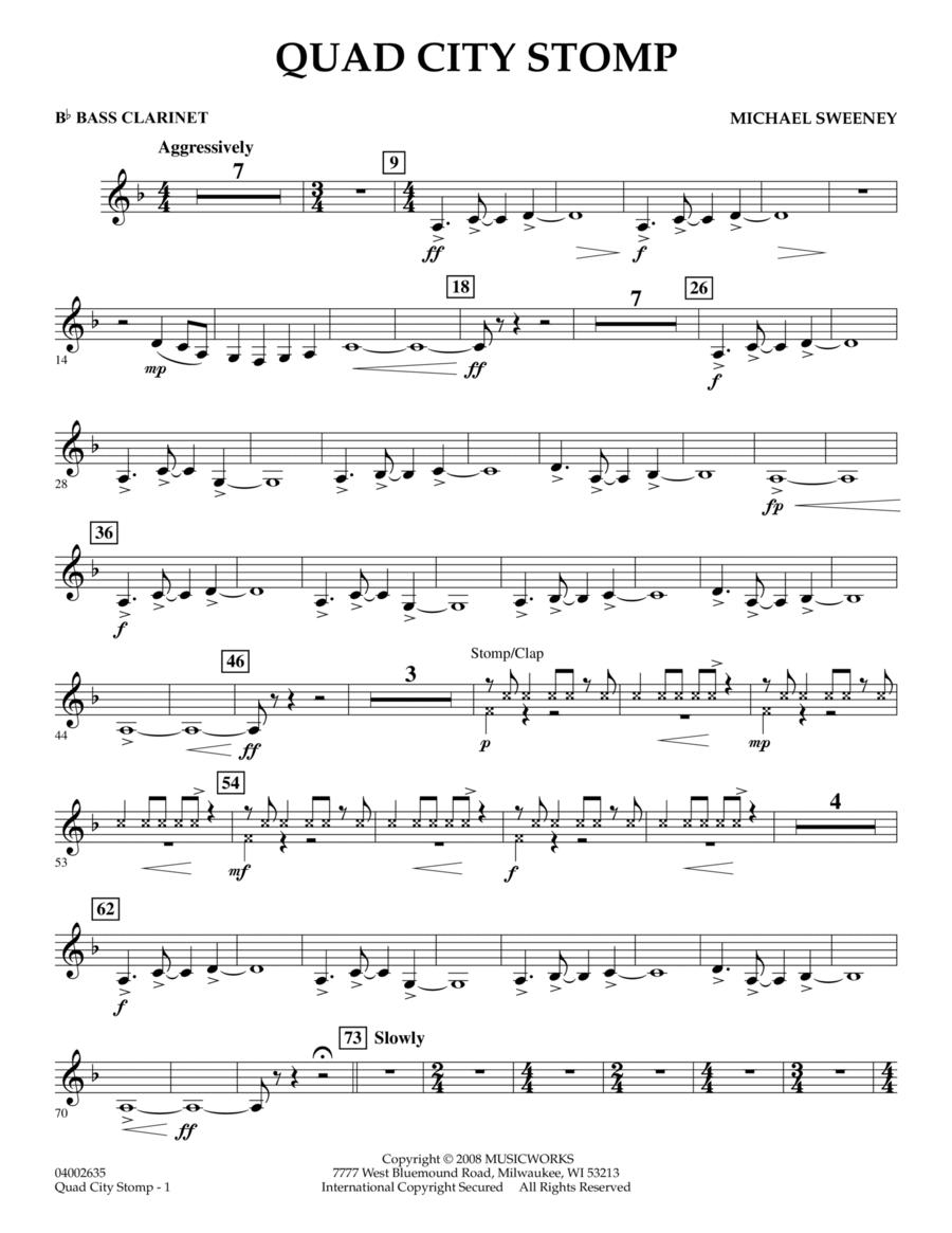 Quad City Stomp - Bb Bass Clarinet