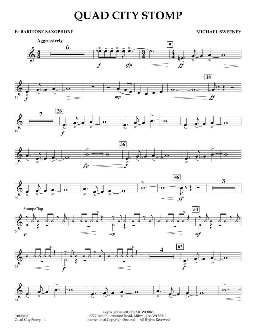 Quad City Stomp - Eb Baritone Saxophone