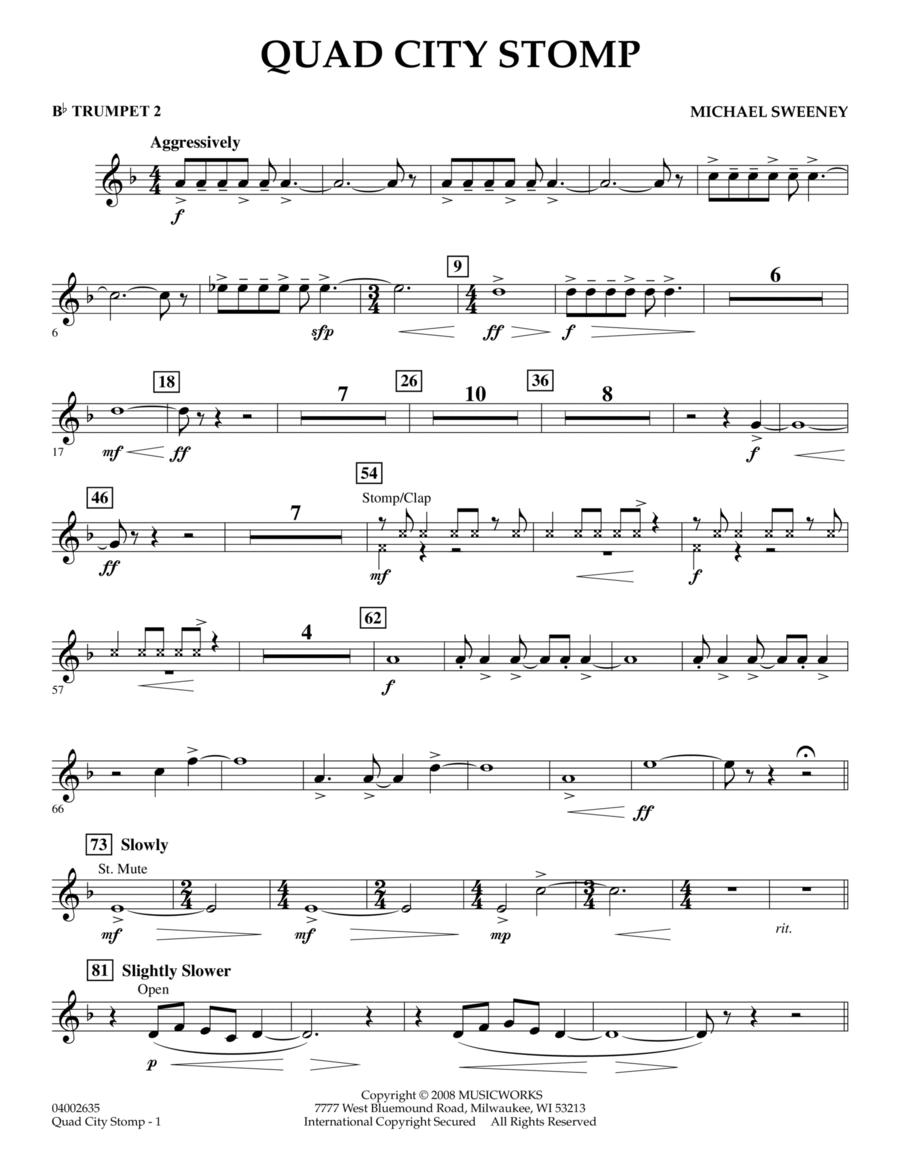 Quad City Stomp - Bb Trumpet 2