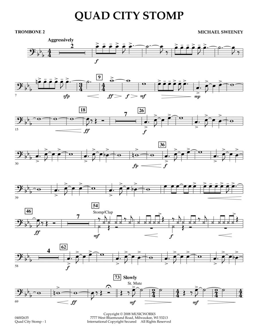 Quad City Stomp - Trombone 2