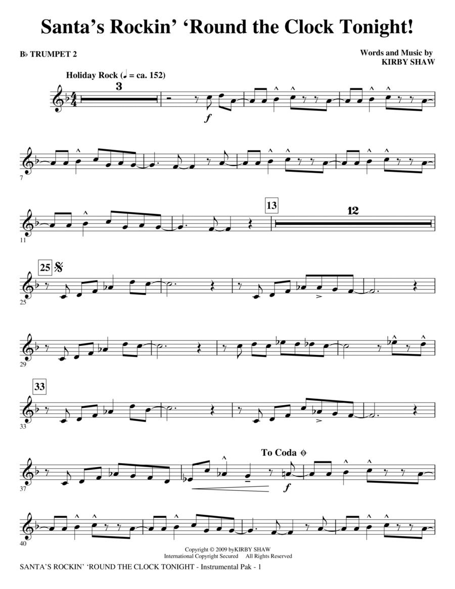 Santa's Rockin' 'Round the Clock Tonight! - Bb Trumpet 2