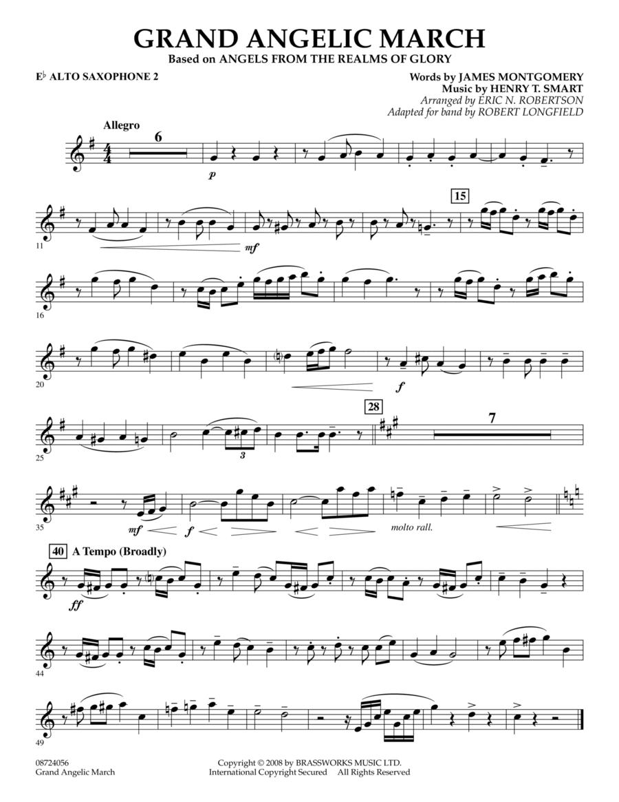 Grand Angelic March - Eb Alto Saxophone 2