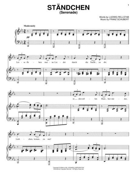Serenade (Standchen)