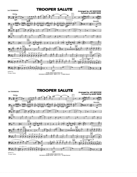 Trooper Salute - 2nd Trombone