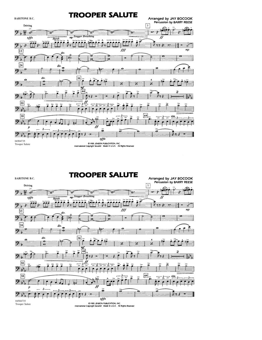 Trooper Salute - Baritone B.C.